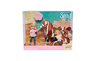 Just Play Spirit Riding Free Small Doll & Collector Horse Set - Abigail and Boomerang