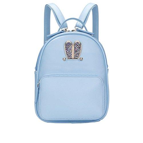 DISSA - Bolso mochila para mujer One size Azul