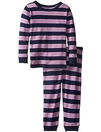 Striped Kids   Toddler Girls Pajamas 2 Piece Pjs Set 100% Cotton Sleepwear  (Toddler 4b85bcc9b