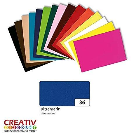 20x30 cm Hellblau Creative Discount/® Filzplatte 10er Pack