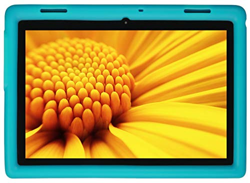Tablet Case for Lenovo Tab E10 (TB-X104F) Kid Friendly (Terrific Turquoise) ()