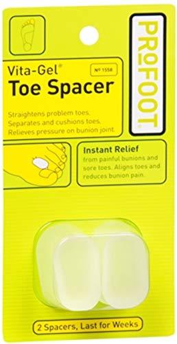 ProFoot Vita-Gel Toe Spacer 2 Each (Pack of 11)