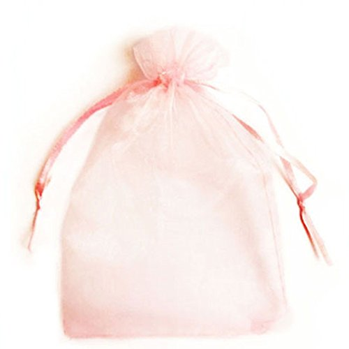 1000PCS 5''x7'' Pink Organza Party Packing Wedding Favor Candy Gift Bags Decor TKT-11 by TKT-11 (Image #4)'