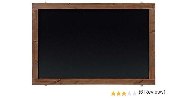 Pizarra rústica colonial, 120 x 60 cm: Amazon.es: Oficina y papelería