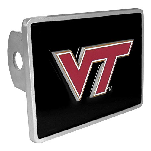 Cover Virginia Hitch Tech (NCAA Virginia Tech Hokies Trailer Hitch Cover, Class III)