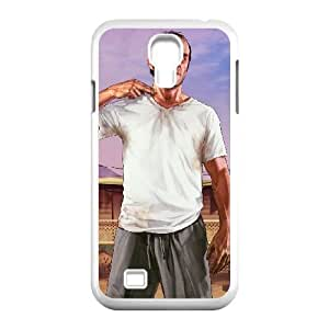 Grand Theft Auto V Samsung Galaxy S4 9500 Cell Phone Case White xlb2-074935