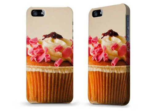 "Hülle / Case / Cover für iPhone 5 und 5s - ""Hooray For Cupcakes"" von Joy St. Claire"