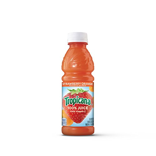 (Tropicana Juice, Strawberry Orange, 10 Ounce (Pack of 15))