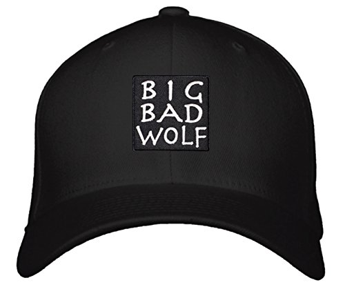 Big Bad Wolf Hat (Snapback Black)