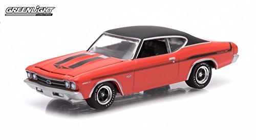 1969-chevrolet-yenko-copo-chevelle-hugger-orange-gl-muscle-series-12-greenlight-collectibles-164-sca