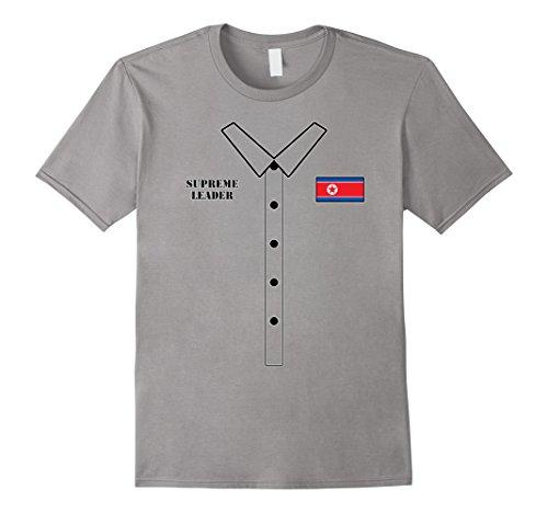 Mens Kim Jong Un Halloween Costume - Funny Rocketman T-Shirt Large (Diy Creative Halloween Costume Ideas)