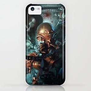 Robot iPhone & iphone 5c Case by Nicolas Villeminot