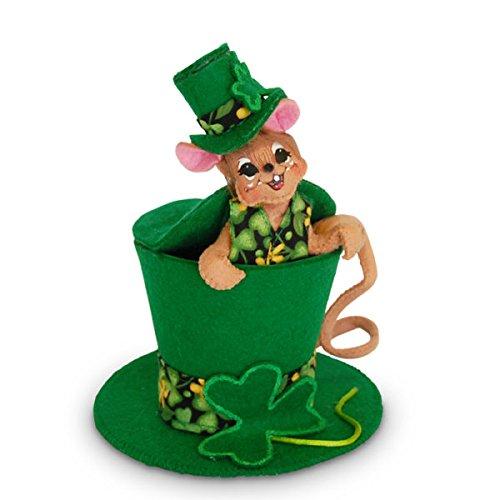 Annalee 5 in Leprechaun Hat Mouse