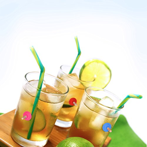 Fred PARTY PLUNGERS Drink Markers, Set of 8 by Fred & Friends (Image #1)
