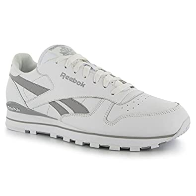 reebok classic white sports shoes