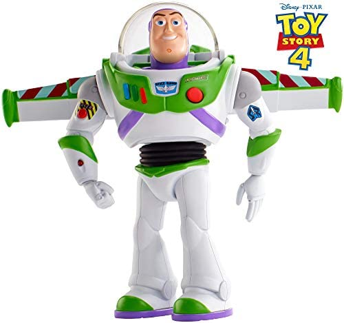 Mattel GGH45 – Toy Story 4 Super Action Buzz Lightyear Actionfigur