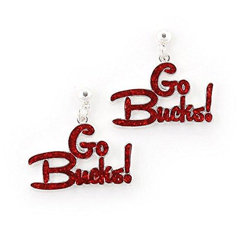 Seasons Jewelry Ohio State Slogan Earrings