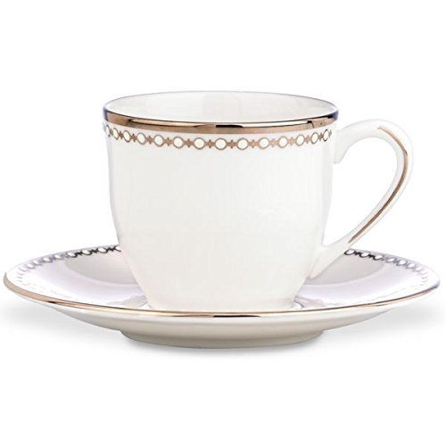 Lenox Pearl Platinum Demi Cup and Saucer