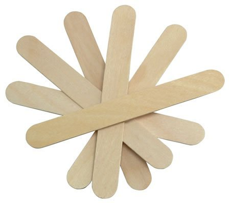 Salon Supply Store 100 Salon Waxing Hair Removal Wooden Spatulas Wax Applicator Wood Eyebrow/Bikini -