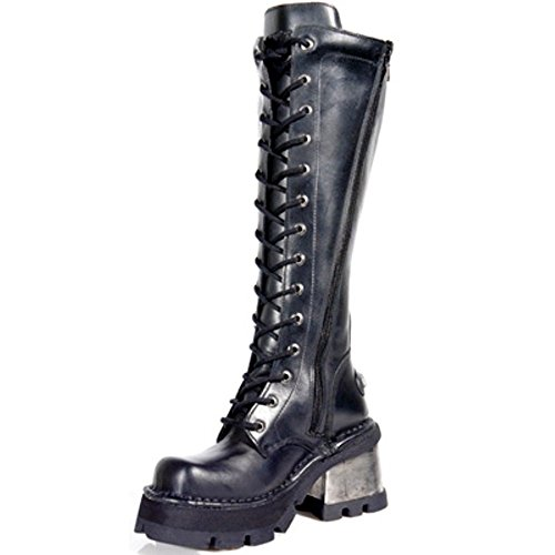 Rock Femmes 236 S1 Noir New Boots Noir Botte Style 1SwTn4x