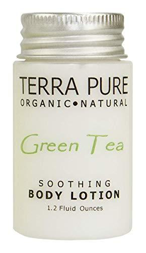 Terra Pure Green Tea Lotion, 1.2 oz. In Jam Jar With Organic Honey And Aloe Vera (Case of 300)