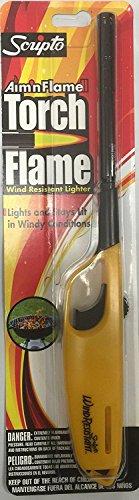 Scripto Multi Purpose Lighter (Random Color) (Aim'n Flame II Wind Resistant)