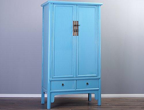 chinesischer schrank hochzeitsschrank blau t rkis cyan g nstig. Black Bedroom Furniture Sets. Home Design Ideas
