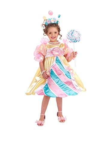 [Rubie's Costume Co NLP Deluxe Candy Princess Costume, Medium, Medium] (Family Themed Fancy Dress Costumes)