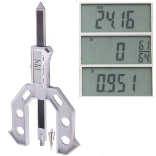 6'' Digital Electronic Height Depth Gauge Gage Router Table Saw Weld Set Up Tool