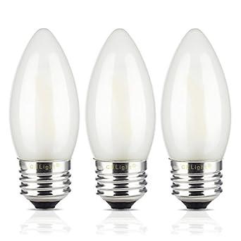 Crlight 2w Led Filament Candle Light Bulb 4000k Daylight