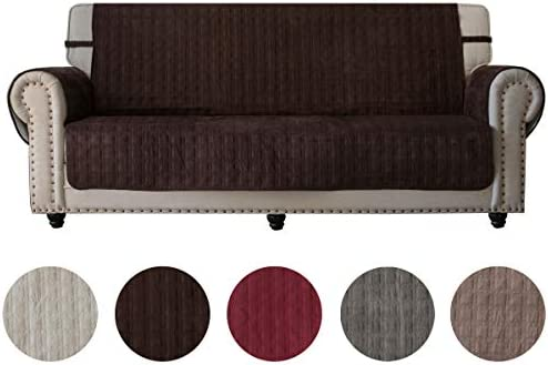 Amazon Com Ameritex Sofa Cover Slip Resistant Sofa Slipcover