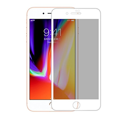 Yutang Explosion Proof Full Cover Film Privacy Anti-Spy Screen Protector(for iPhone 8/8Plus) by Yutang (Image #2)
