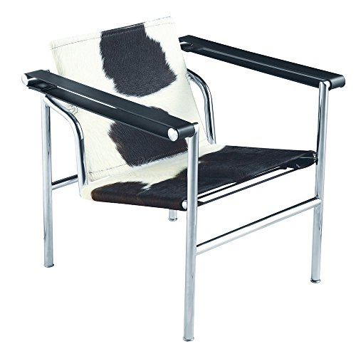 Chairs Italian Designer Office - Modern Contemporary Accent Chair, Black, Leather