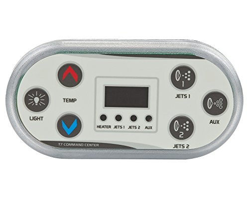 United Spa Controls T7 Topside, Digital Command Center for C5 Series Spa Control Systems by United Spa Controls