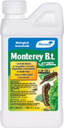 Monterey 704596  Caterpillar Killer Pesticide, 1-Pint, 16 Ounces ()