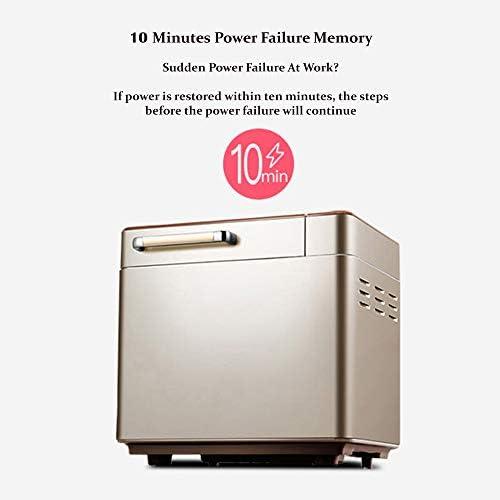 WEHQ Machine à Pain, Pain Machines Maker Machine à Pain Machine à pétrir la pâte à Pain Machine Multifonction Intelligent Pain Roaster Toast Maison