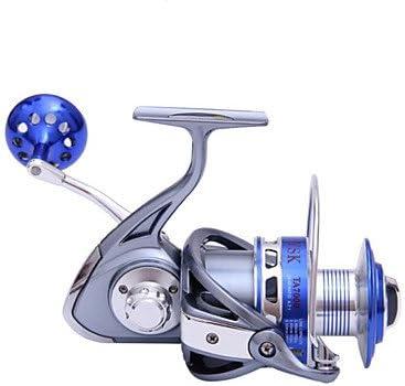 Carrete de TY Pesca Pesca Spinning 4.7:1 9 Rodamientos de Bolas ...