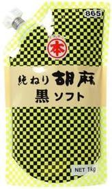 竹本油脂 ねりごま 黒 ソフトパウチ 1kg