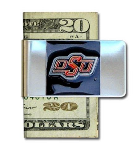 NCAA Oklahoma State Cowboys Steel Money Clip (Basketball Oklahoma State)