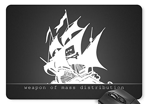 Mouse Mat Sailboat - Weapon of Mass Distribution Mouse Pad 11.8 X 9.8""
