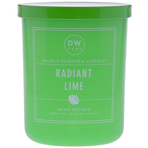 DW Home Large Radiant Lime Scented Candle Two Wicks