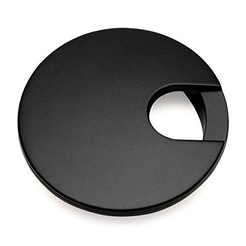 Matte Grommets - Cosmas 50203FB Flat Black 2-1/2