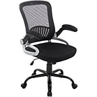 Poly and Bark Hargrove Office Chair in Mesh, Black
