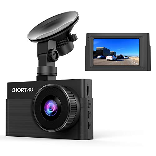 Dash Cam 1080P FHD CHORTAU Dash Camera for Cars 3 inch Dashcam with Super Night Vision, 170°Wide Angle, Parking Monitor, Loop Recording