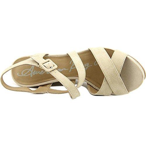 mujer American vestir para Snake Sandalias beige Rag de Natural Frgr6c