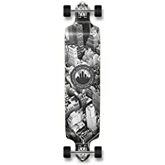 The drop down bomber is designed for high speeds, downhilling, carving and also cruising. This drop-down is solid with its hard Canadian Maple 9-ply and can hold weights up to 275 LBs. The deck sits lower to the ground for more control and st...