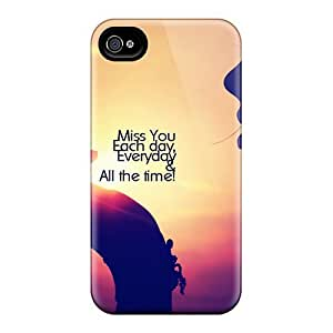 CVlBETe5413AMVeQ Snap On Case Cover Skin For Iphone 4/4s(miss You) by icecream design