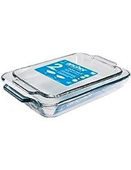 Anchor Hocking Oven Basics Glass Baking Dishes, Rectangular Value Pack, Set of 2