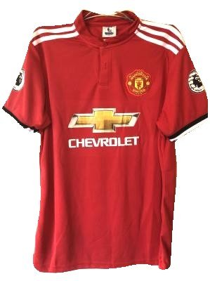 病気の摂氏度パウダー?代引可?大人用 A008 マンチェスターユナイテッド 赤 19 ゲームシャツ パンツ付