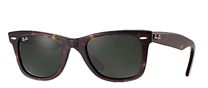 ray ban sunglasses latest  Amazon.com: Ray-Ban RB2140 Wayfarer (47mm Tortoise Frame, Solid ...